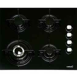 600 x 550 x 95 mm 4 Burner Gas Hob