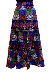 Girls Printed Cotton Skirt