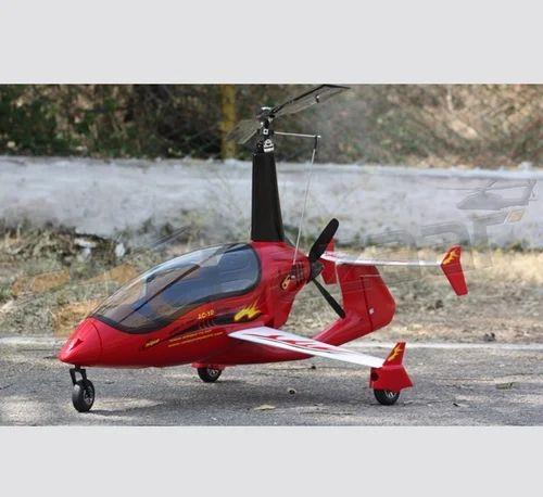 Ac 10 Gyroplane And Gyrocopter Red