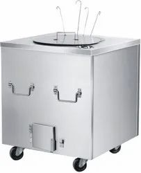 Stainless Steel Square Tandoor, For Restaurant