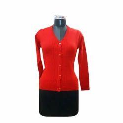 6ef5dbf0ec3ca5 Multicolor Niayamat Hand Knitted Ladies Cardigan
