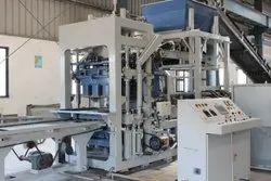 Automatic Concrete Block Machine