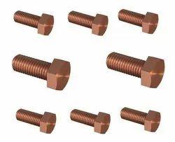 Cupro Nickel Fasteners ( Nut ,Bolt, Screw, Washers, Studs, Threaded Rods)