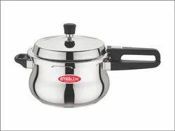 Steelix Silver 5L Stainless Steel Handi Pressure Cooker