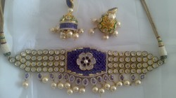 Designer American Diamond Necklace Set JNS 838-1700