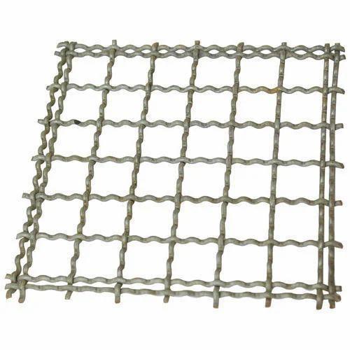 SS304 & Medium SS Heavy Crimped Wire Mesh, Rs 250 /kilogram | ID ...