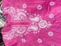Chikan Hand Embroidery Cotton Kurti