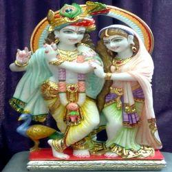Goddess Radha Krishna Statue
