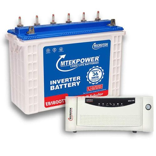 Lead Acid Microtek Inverter And Battery Combo, Warranty: 4 Years