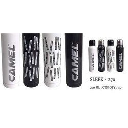 Camel Black Sleek Vacuum Bottle, Size: 270ml