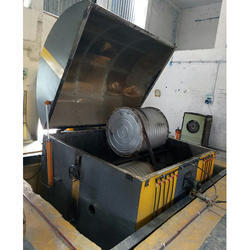 Closed Oven Rock and Roll Rotational Moulding Machine