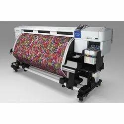 1440*720 Synthetic Epson Sc-F7270 64 Inch Dye Sublimation Printer, Onyx, Ac 100 - 240v