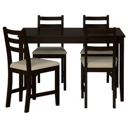 Wooden 4 Seater Dining Table