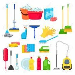 蓝色家用清洁工具