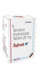 Tafnat Tenofovir Alafenamide 25mg Tablets