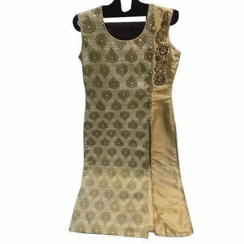 Cotton Printed Ladies Anarkali Suit