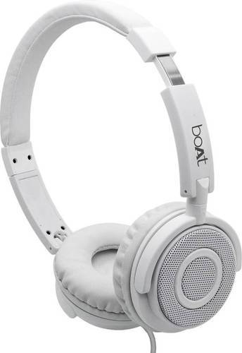 fe0c590febc Pearl White White Boat BassHeads 900 Super Extra Bass Wired Headphones