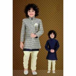 Cotton Kids Kurta Suit