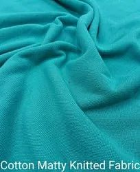 Cotton Matty Knitted Fabric