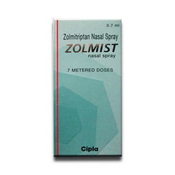 Zolmitriptan Spray
