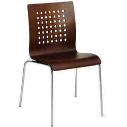Brown Color Restaurant Chair