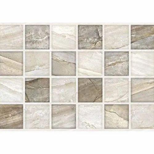 Matt Ceramic Bathroom Wall Tile, Size: 60 * 60 In cm ...