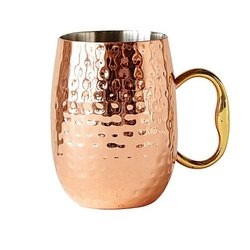 Hammered Copper Mule Mugs