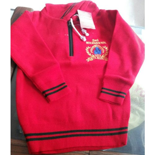 9b770eaefc Cotton Red Hoodie Jacket, Rs 325 /piece, Shilpa Knit Art | ID ...