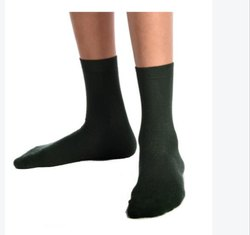 Navy Green School Socks