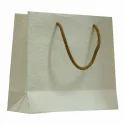 White Plain Handmade Paper Bag