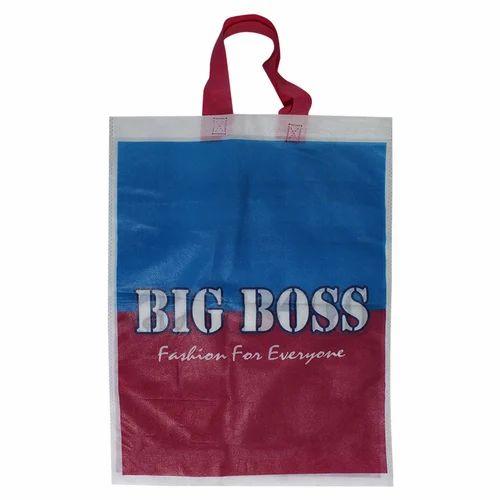 Printed Loop Handle Bag