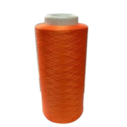 Orange Dope Dyed Yarn