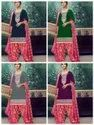 Ethnic Embroidered Patiala Salwar Suit