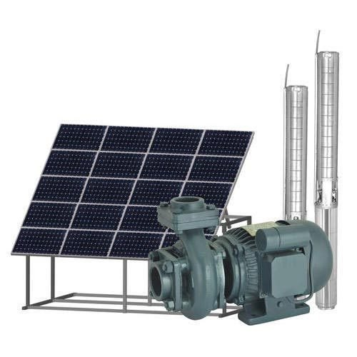 5 HP Solar Monoblock Pump Combo