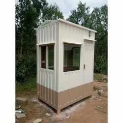 Prefabricated MS Security Cabin