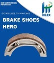 Hilex Ambition/ CBZ/ Splender / Passion Brake Shoe