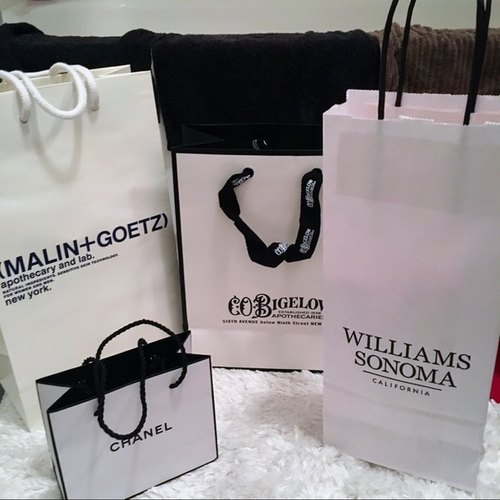 Printed Luxury Paper Shopping Bag