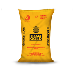 Raasi Gold 50 Kg Cement, Packaging Type: PP Sack Bag