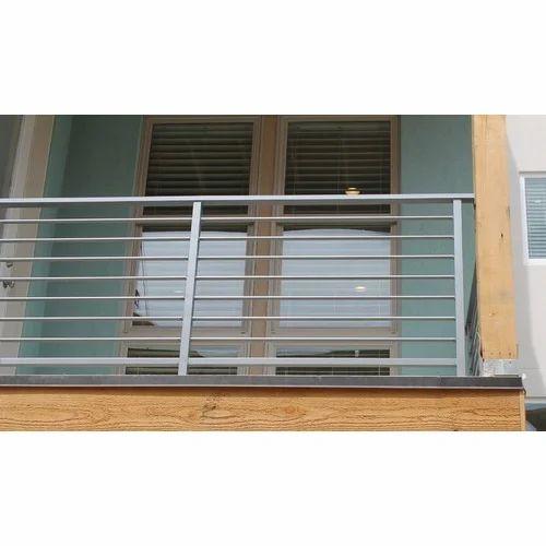 Ss Balcony Railing Design Rs 850 Running Feet S B Steel Traders