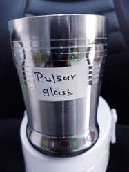 Stainless steel Plain glass water glass