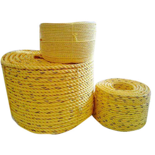 Yellow Plastic Rope, Usage: Industrial, Rescue Operation