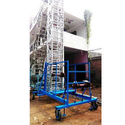 Aluminum Tower Wheeled Ladder
