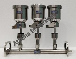 Sterility Testing Filtration Manifold (C-funnel), Size: 3 or 6 branch