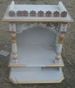 White Rm 2x2ft Marble Temple