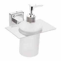 Zolon Stainless Steel,Abs ZB-407 Liquid Soap Dispenser, Packaging Type: Box