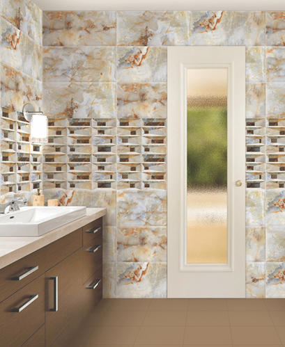 12x24 Digital Bathroom Wall Tiles