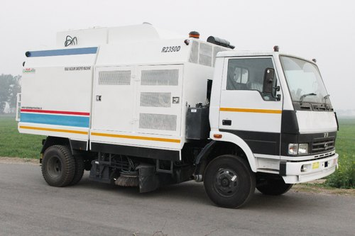 Pyara Singh & Sons LCV Chassis Mounted Road Sweeper Machine