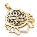 Lotous Style Funky Stylish Look Brass Fashionable Partywear Casual Pendant Forever