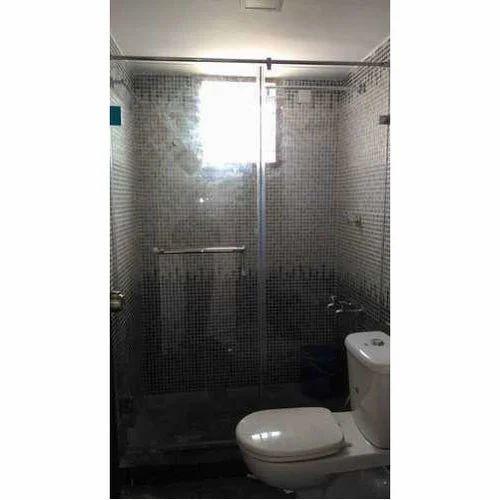Plain Shower Glass Partition, Rs 240 /square feet Royal ...