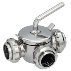 SS Three Way Valve